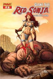 Giant Sized Red Sonja #2 Salazar Cover (2008) Dynamite Entertainment comic book